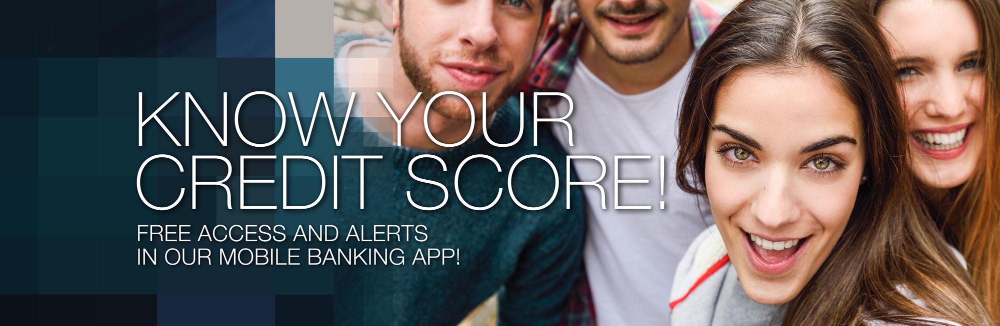 Free Credit Score & Alerts!
