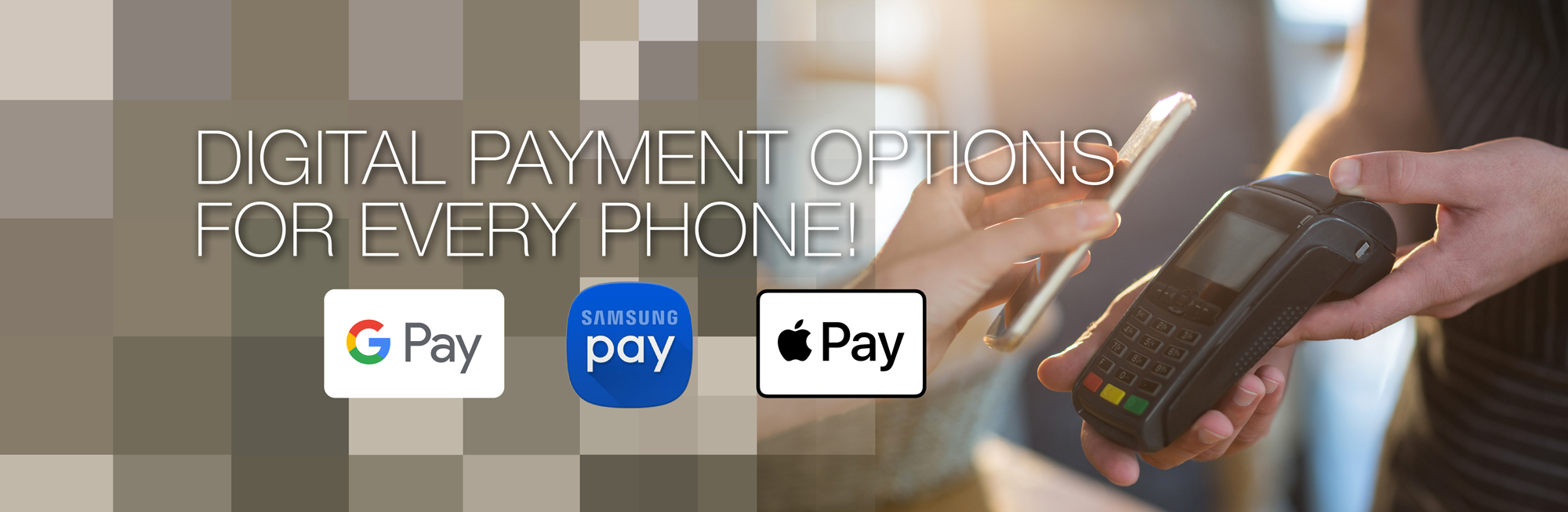 Digital Payment Options For Every Phone!